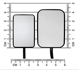 Figure 2 - Size 2 and Size 1 sensor dimensions